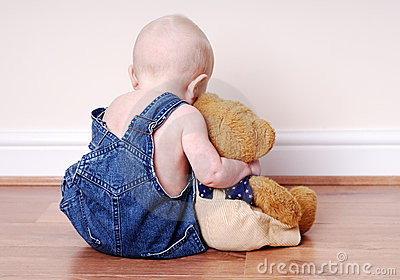 Boy and his teddy