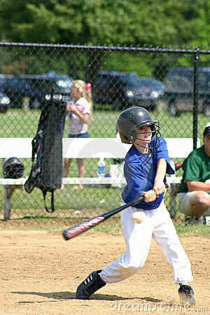 Free Boy Hitting Ball Royalty Free Stock Photo - 1211425