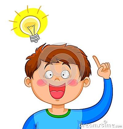 Boy with an idea