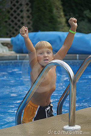 Free Boy In A Pool Stock Photos - 2129053