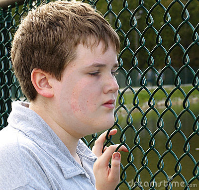 Free Boy In Fence Stock Photography - 35022