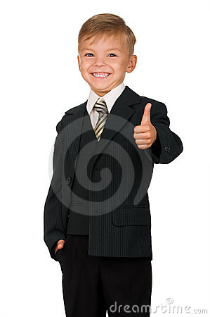 Free Boy In Suit Stock Photos - 15895903