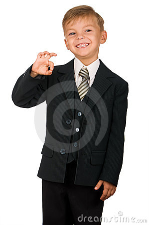 Free Boy In Suit Stock Photos - 15895913