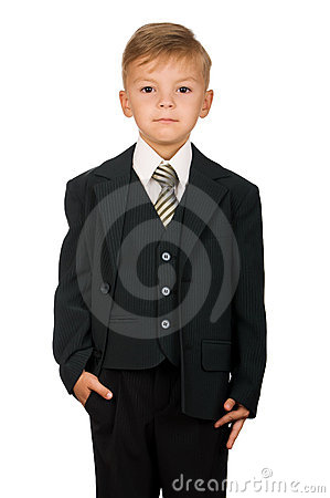 Free Boy In Suit Royalty Free Stock Photo - 15895915