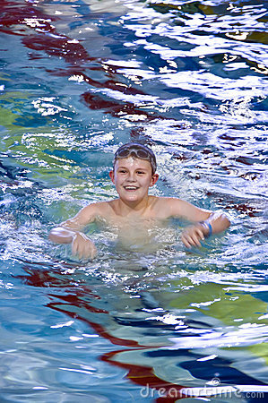Free Boy In Swimming Pool Stock Photography - 4650652