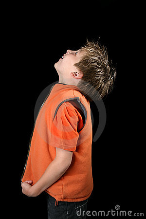 Free Boy Looking Up Stock Photos - 1787333