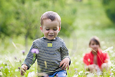 Boy in Meadow