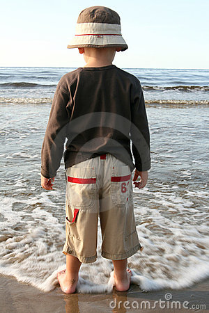 Free Boy On A Beach Stock Photos - 3233083