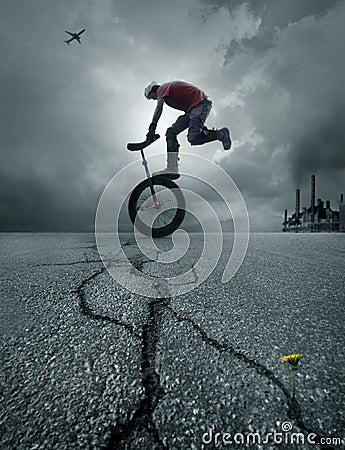 Free Boy On A Bike Stock Photos - 2334423