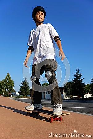 Free Boy On A Skateboard Royalty Free Stock Photo - 6421495