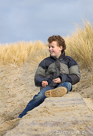 Free Boy On Beach Royalty Free Stock Photo - 8410395