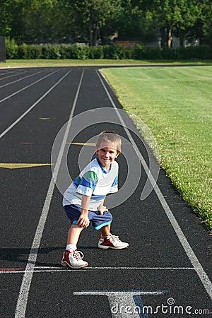 Free Boy On Track Stock Photo - 1212480