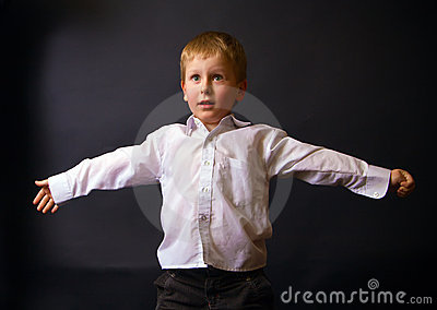 Boy With Open Arms
