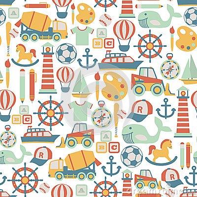 Free Boy Pattern Stock Images - 41957374
