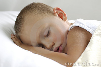 Boy On The Pillow