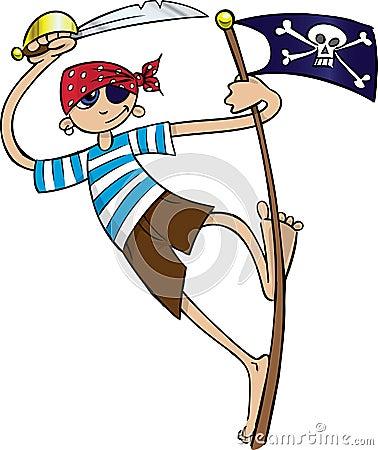 Free Boy Pirate Royalty Free Stock Image - 5247726