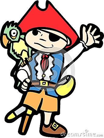 Boy in Pirate Costume #1