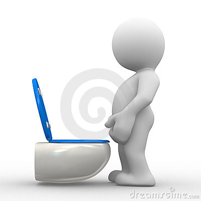Free Boy Pissing Stock Photography - 1663192