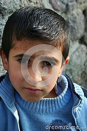 A boy portraits