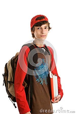 Free Boy Preparing To School Stock Images - 11075484