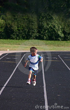 Free Boy Racing Stock Photos - 1244433