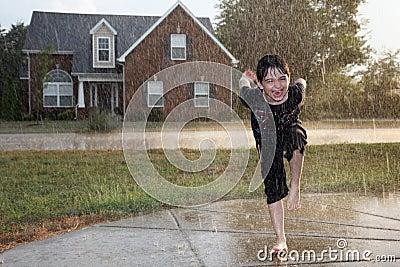Boy in the Rain