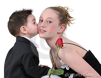 Boy s First Kiss