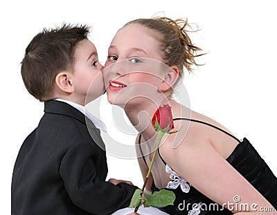Boy s First Kiss