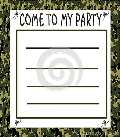 Free Boy S Party Invitation Royalty Free Stock Images - 50357109