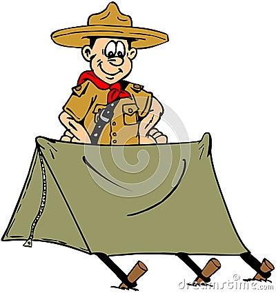 Boy Scouts Camping Clipart Boy-scout-9013420.jpg