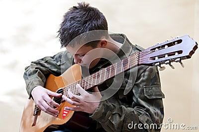 Boy scout guitar