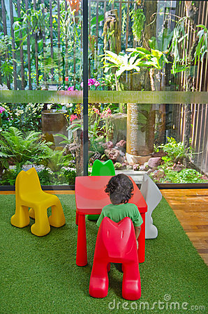 Boy sitting eco friendly living room nature royalty free - Naturewood furniture for both indoor and outdoor sitting ...