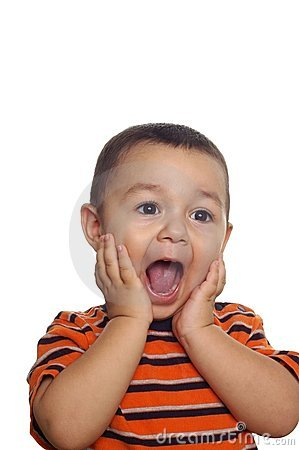 Boy With Surprised Or Shocked Expression Stock Images ... Baby Girl Crying Animation