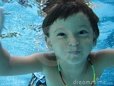 Boy Swimming Royalty Free Stock Image - Image: 985426