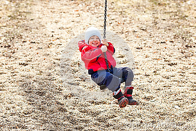 Boy at the swing