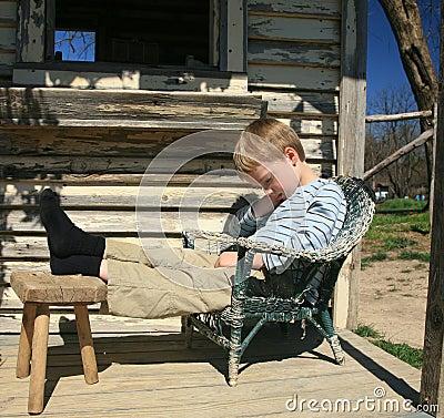 Free Boy Taking Afternoon Nap Royalty Free Stock Photo - 4571795