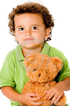 Boy With Teddy