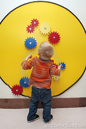 Boy and Toy Gears