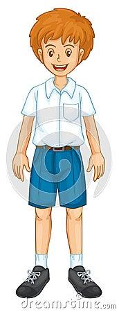 Boy in uniform
