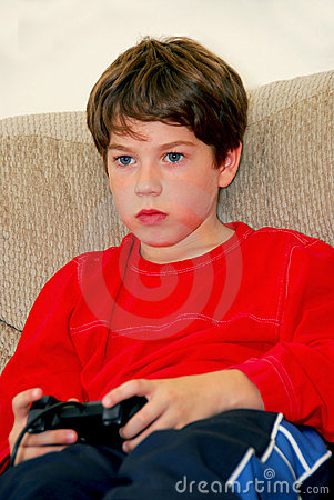 Boy video game