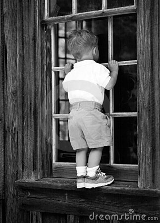 Boy in the window