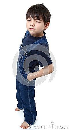 Free Boy Winking Stock Photo - 11764410