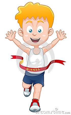 Boy the winner
