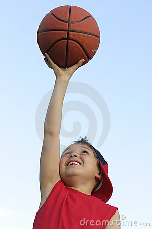 Free Boy With A Basketball Royalty Free Stock Images - 334989
