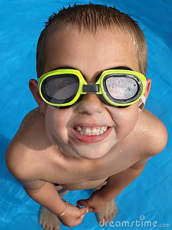 Free Boy With Goggles Stock Images - 20575664