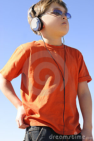 Free Boy With Player Stock Images - 234744