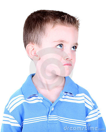 Free Boy With Pout On His Face Royalty Free Stock Photography - 14206897