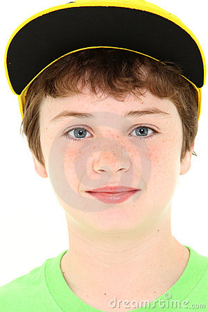 Boy in Yellow Cap