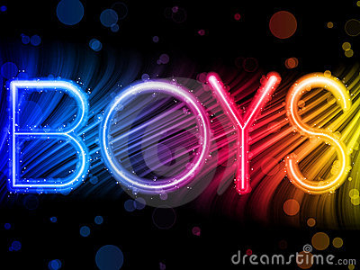 Boys Gay Pride Background