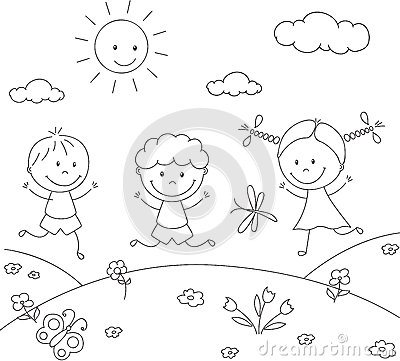meadow animals coloring pages - photo#28